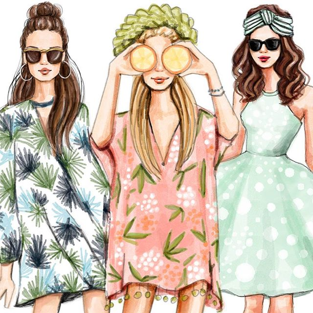 Why The Profession Of Fashion Illustrator Is So Popular Interview With 6 Young Illustrators Youth Time Magazine