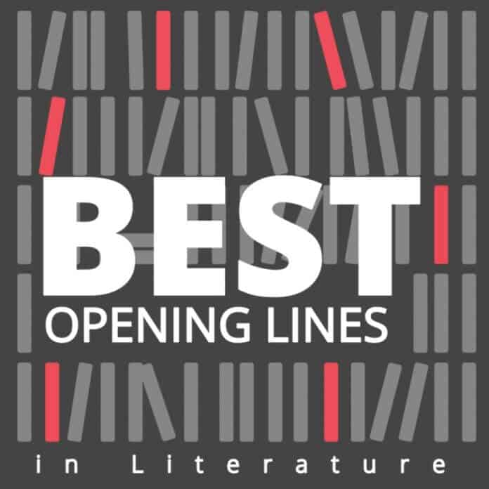 The best opening lines in literature
