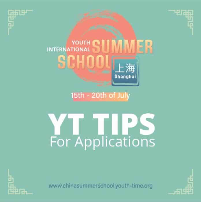 Tips for the International Summer School