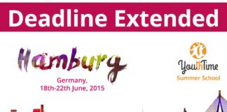 Youth Time Summer School 2015: the Deadline Extended to April 1