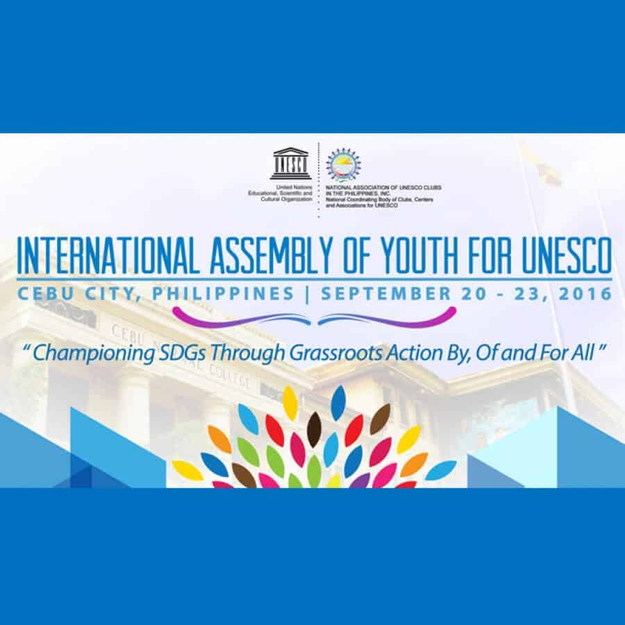 Join International Assembly Of Youth For UNESCO In