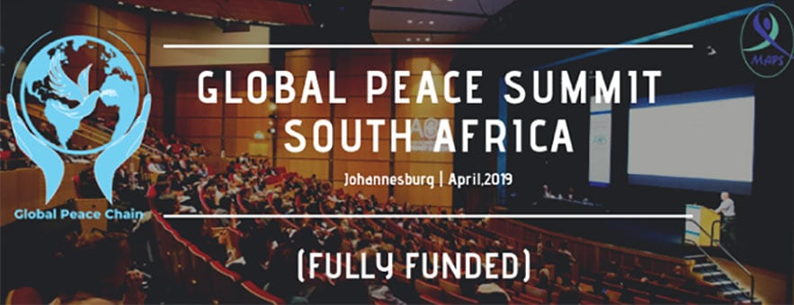 Fully Funded Global Peace Summit in South Africa - Youth Time Magazine