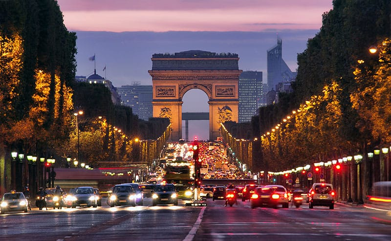 The most expensive boulevard in Paris - Champs-Elysees