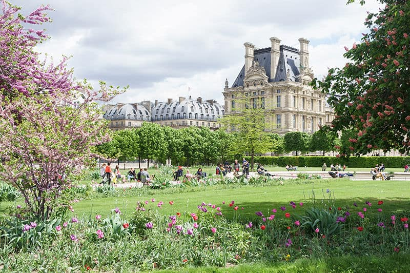 Louvre Palace and Tuileries garden offer relaxing moments.