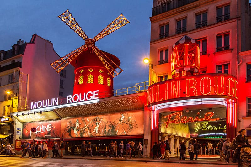 Staying in Paris and not seeing The Moulin Rouge - Impossible