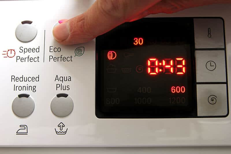 Water and energy efficient appliances