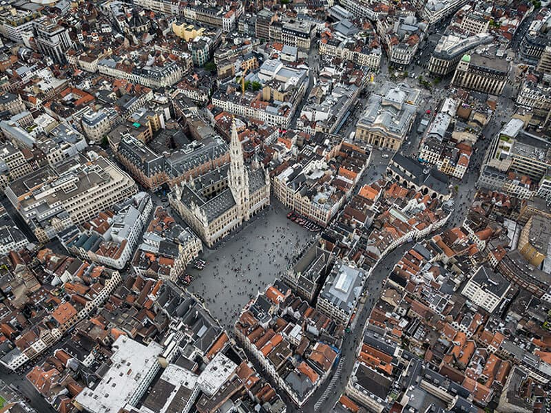 Brussels In Photograph