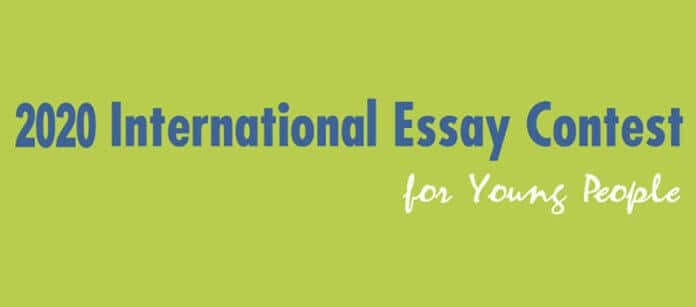 2020 International Essay Contest for Young People