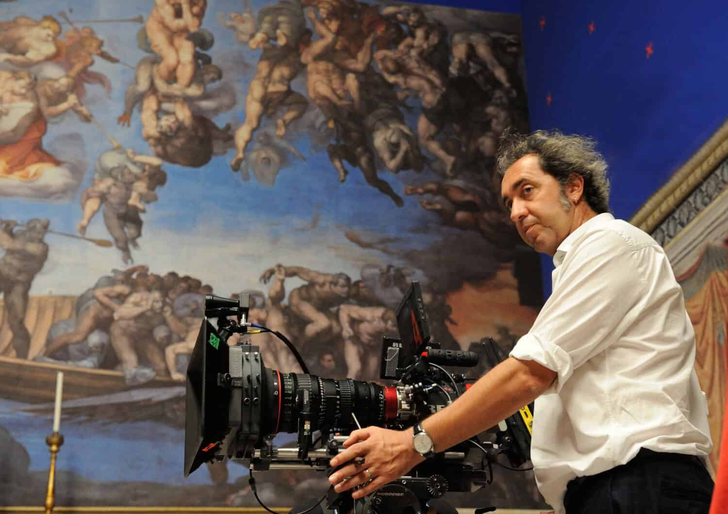 Paolo Sorrentino behind the scenes