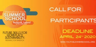Youth International Summer School 2020.