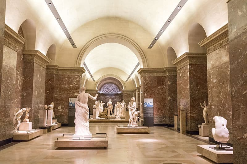 Louvre Museum - neoclassical ancient greece culture