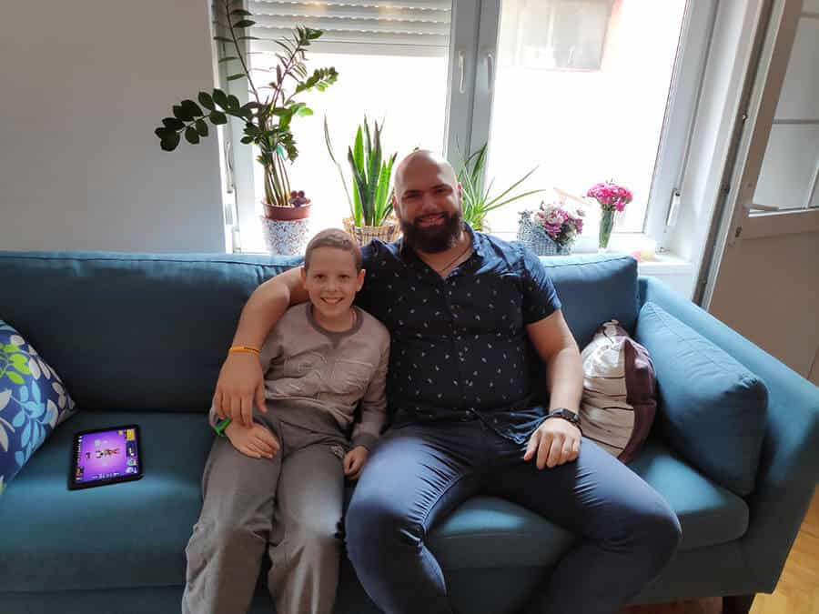 The boy who beat the cancer