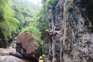 Canyoning and hiking in Vietnam