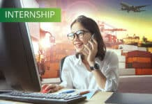 Intern in logistic industries business