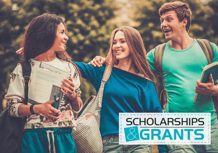 International students scholarship concept