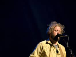 Justin Vernon and the band Bon Iver