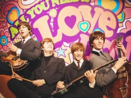 The Beatles in Madame Tussauds of London