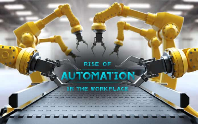 Future skills on Iceland, Industrial robotic arms