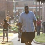 Quinton Aaron as Michale in the movie The Blind Side