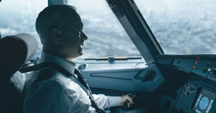 Tom Hanks as Sully in the movie Sully Miracle on the Hudson