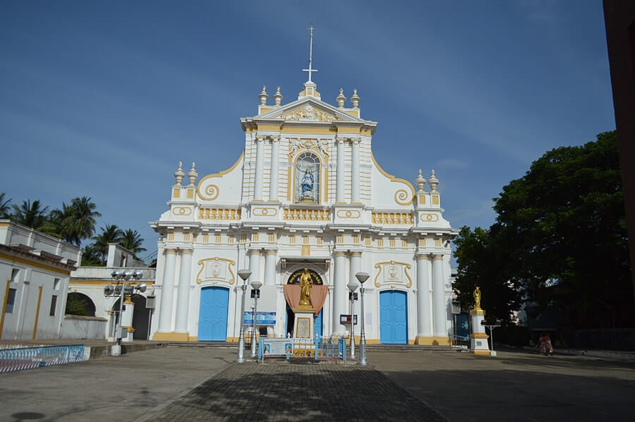 Immaculate Conception Cathedral Pondicherry India