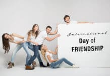 International Day of Friendship concept