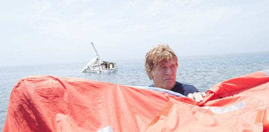 Robert Redford in the movie All Is Lost
