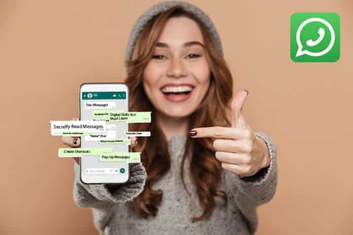 WhatsApp Lifehacks concept