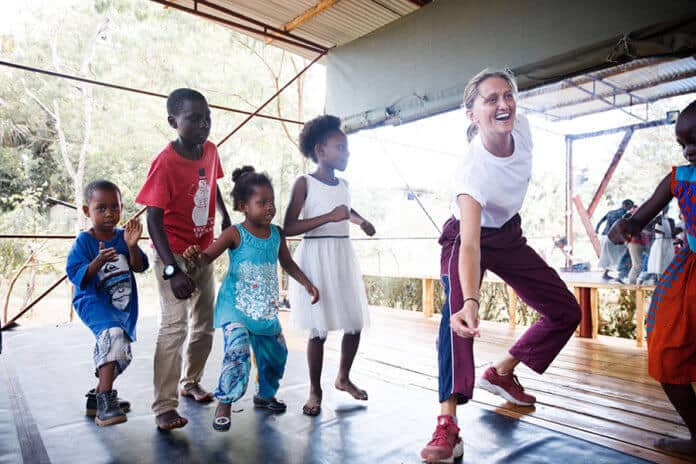 Empowering Tanzanian Youth through Dance and Art