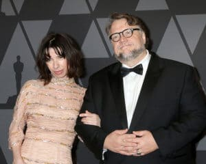 Sally Hawkins and Guillermo del Toro Photo Shutterstock Kathy Hutchins