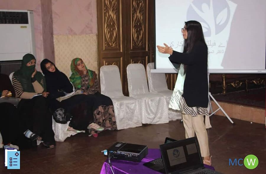 Session with Lady Health Workers Hyderabad
