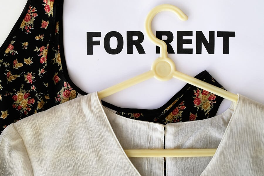 rent clothes