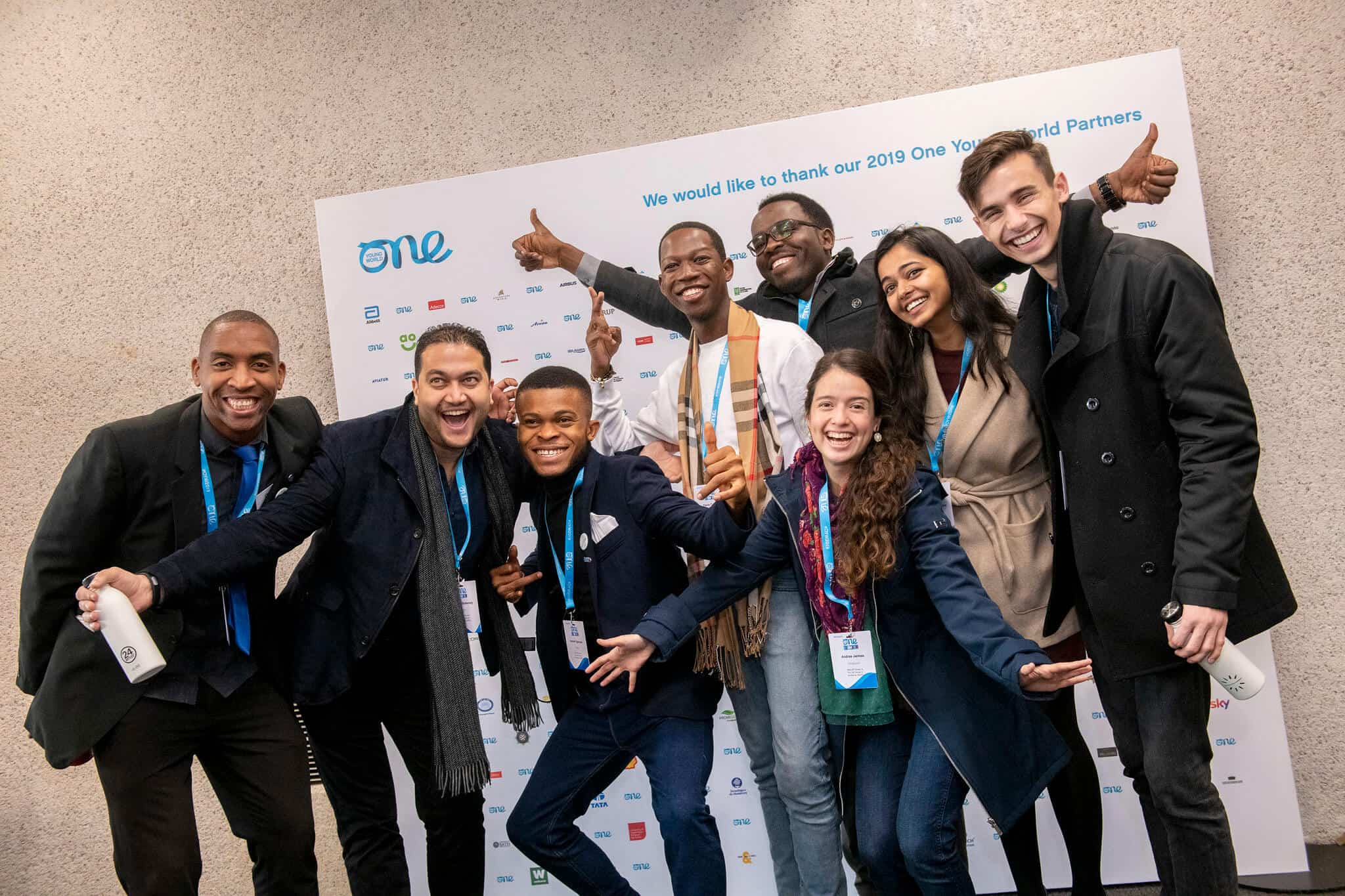 Youth taking part in One Young World Summit 2019