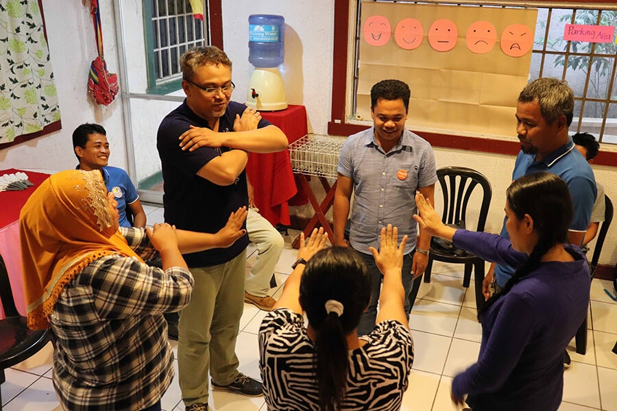 Peacebuilding training in the Philippines © Conciliation Resources