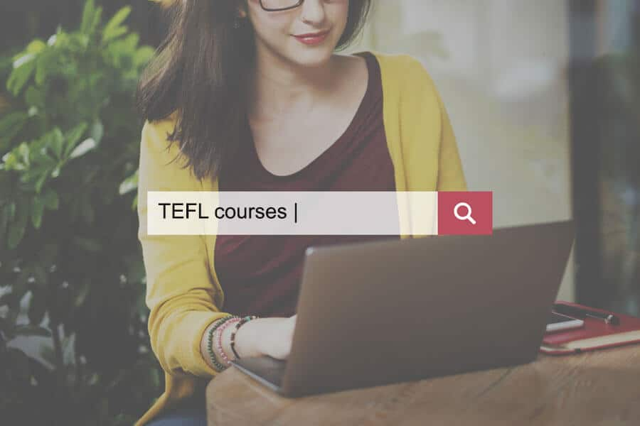 Search for the best TEFL courses