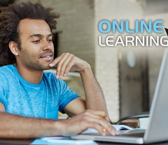 Studying an online course