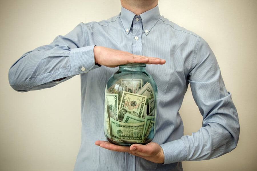 Financially literate person knows the importance of savings