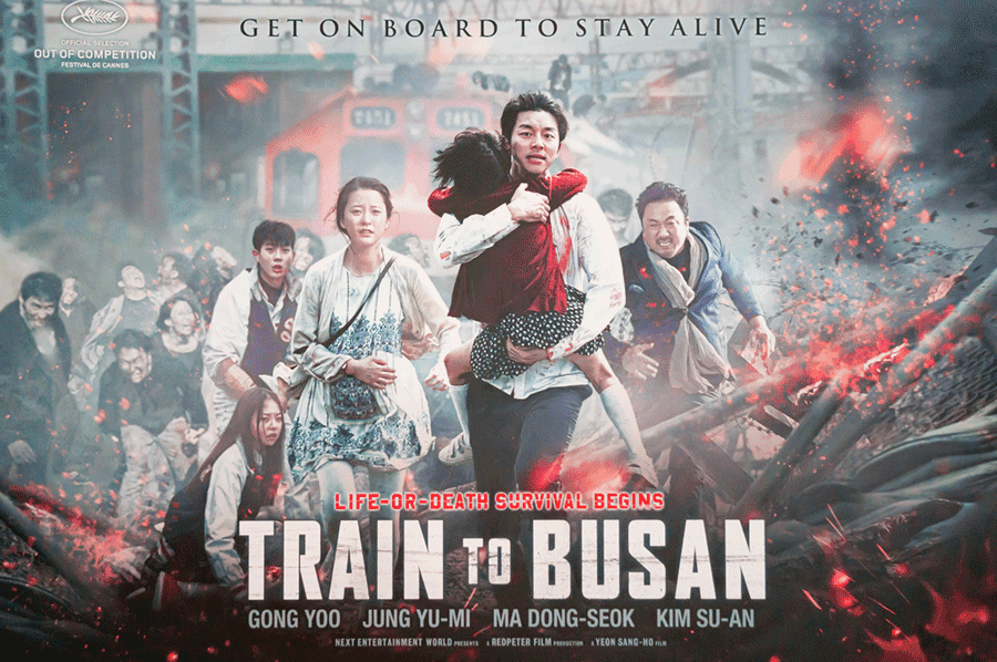 Train to Busan movie poster film directed by Yeon Sang ho Photo Shutterstock Faiz Zaki