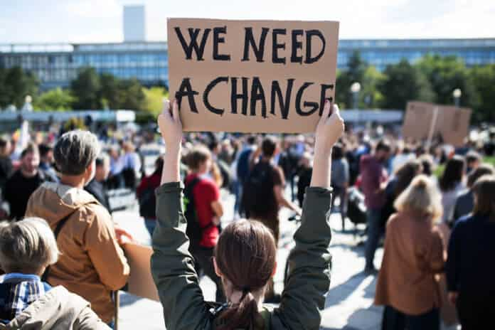 Global strike for climate change
