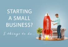 Launching a new business