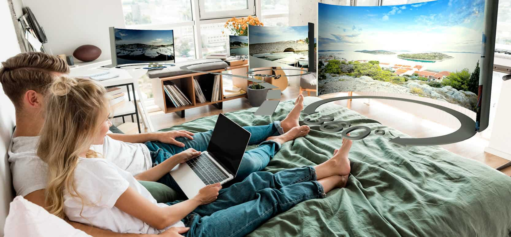 Virtual tour from your home banner