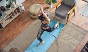 Fitness virtual reality experience