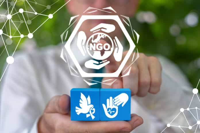 NGO Non Governmental Organization Concept