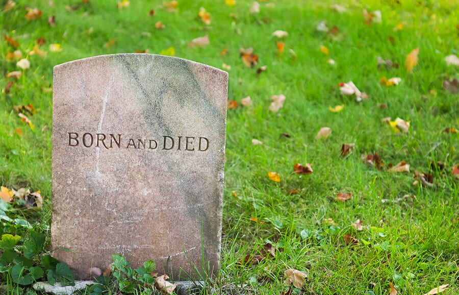 Born and died