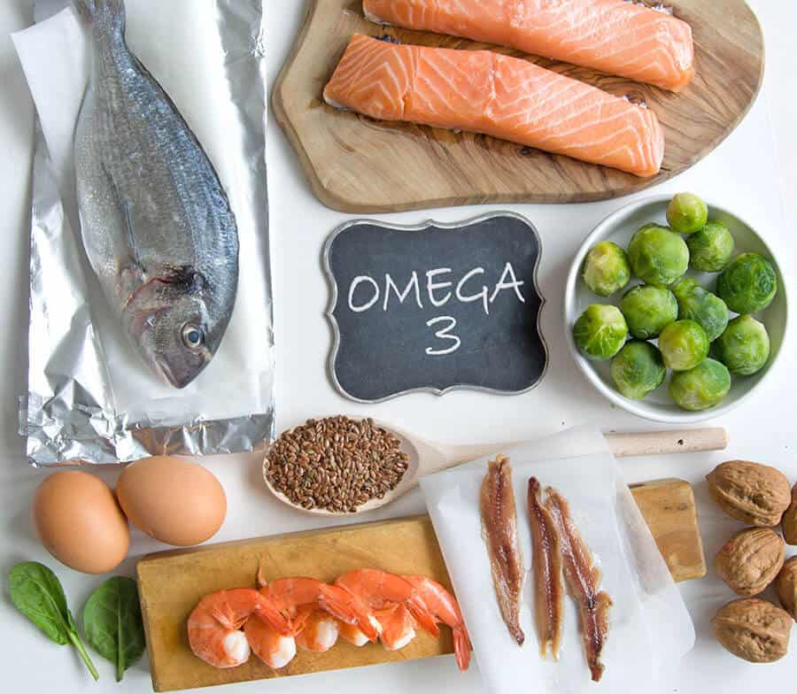 Food rich on Omega 3