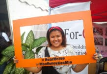 "Mia is part of Youth Network called ""Tanora Iray"" advocating for sexual and reproductive health rights"