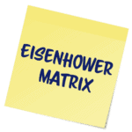paper memo notes Eisenhower Matrix
