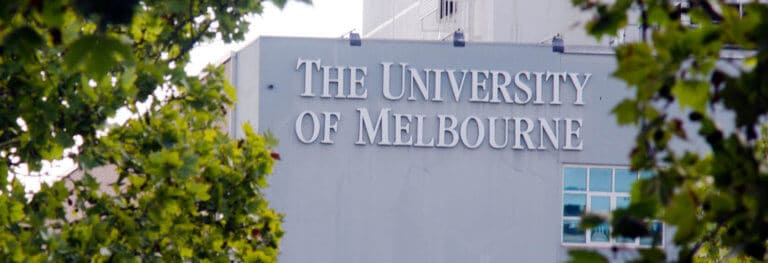Graduate Research Scholarships at University of Melbourne