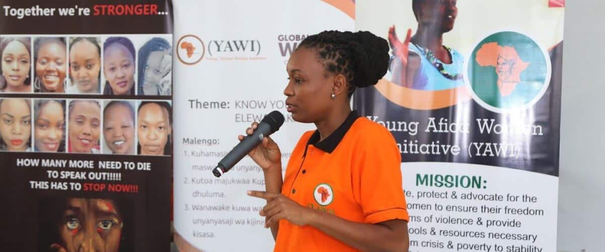 YAWI Freeing African Women From Violence